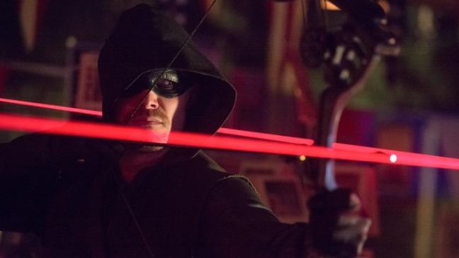 Arrow Blast Radius Still Stephen Amell - H 2014