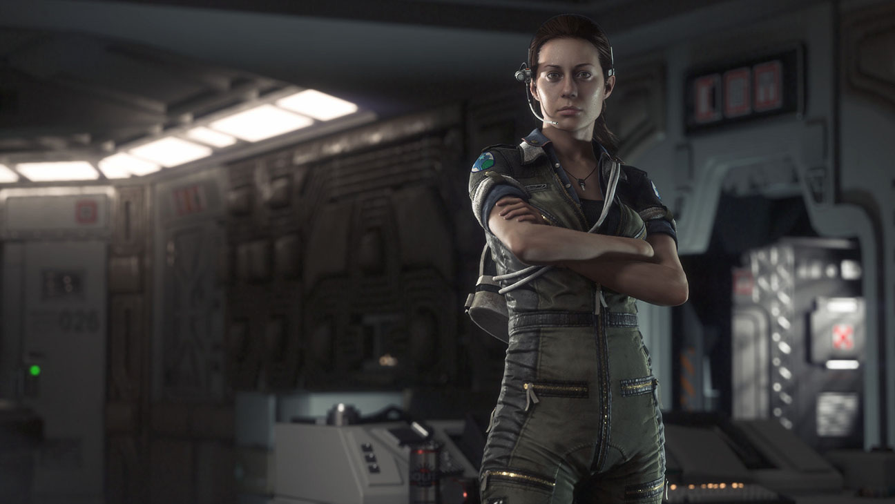 Alien Isolation Amanda Ripley Art - H 2013