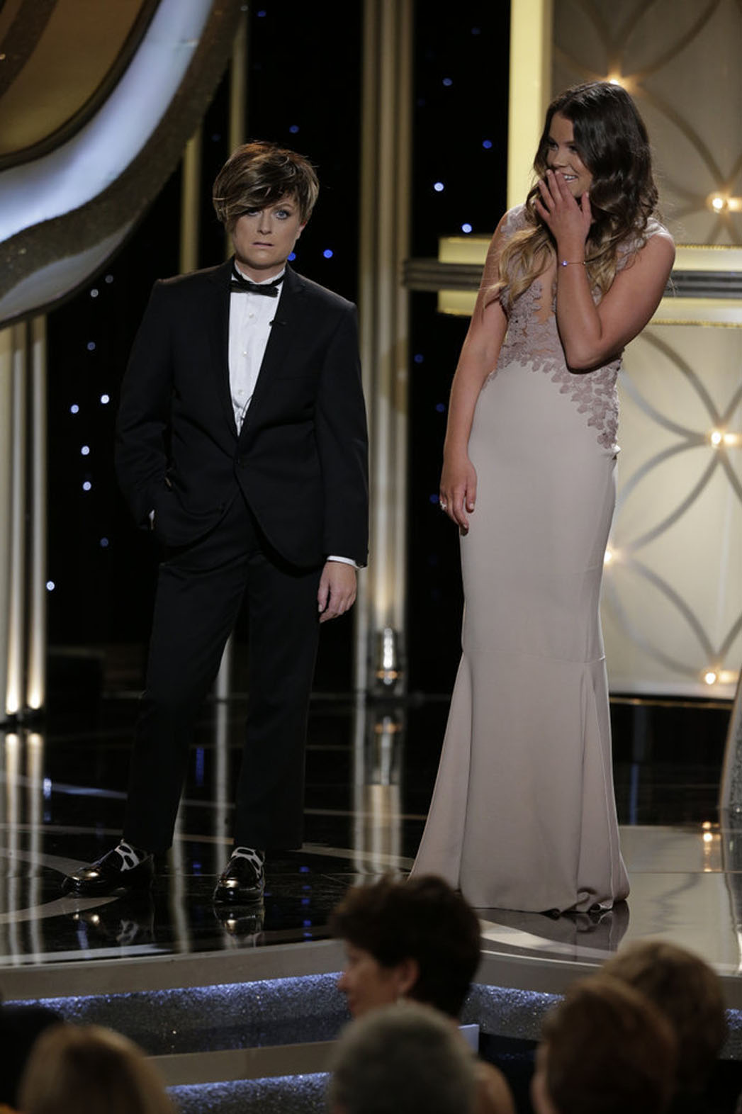 Mr. Golden Globe Finds His Father