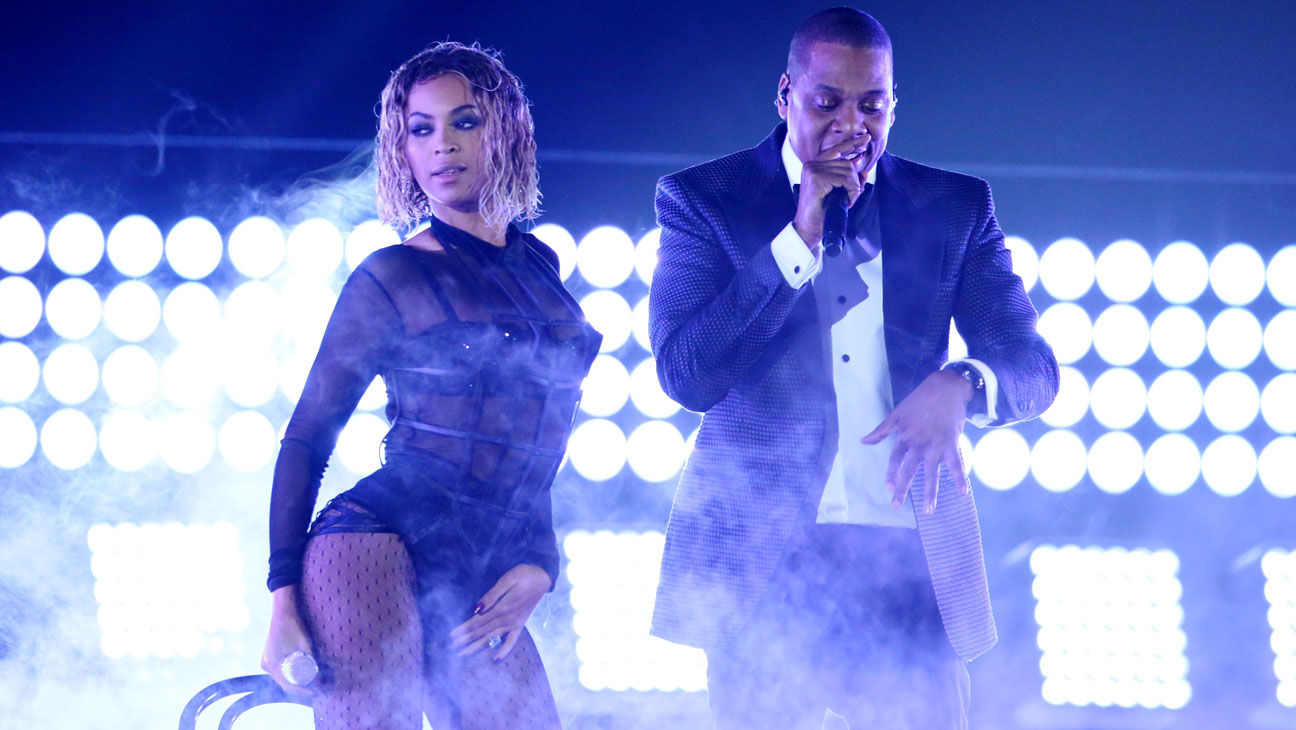Beyonce and Jay-z Performing Grammys - H 2014