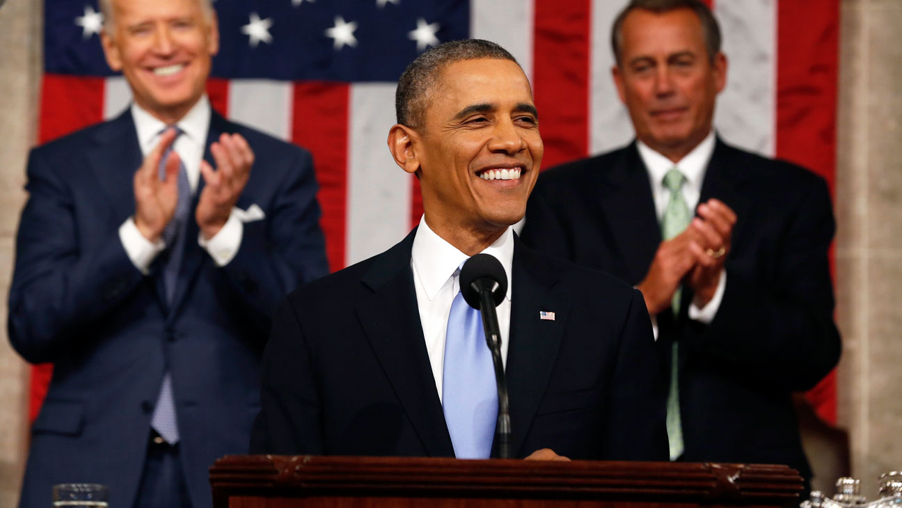 Barack Obama State of Union 1/28 - H 2014