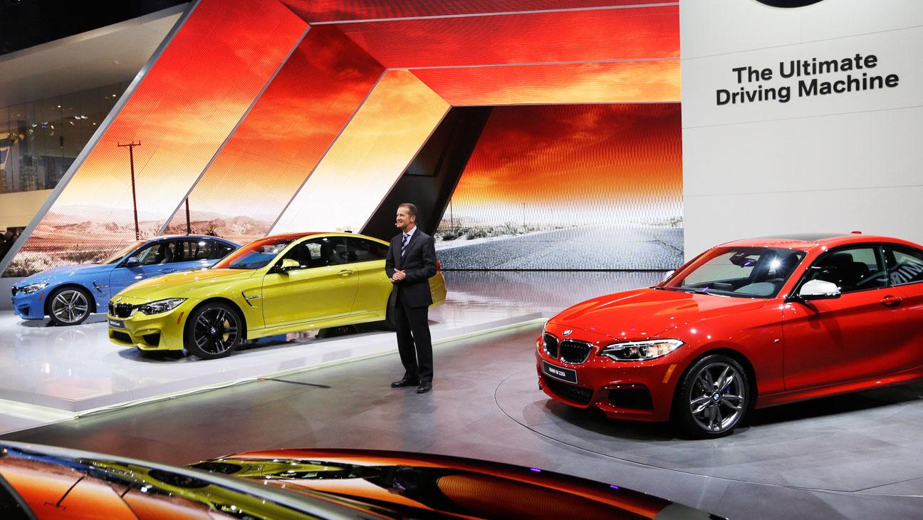 BMW Detroit Auto Show - H 2014