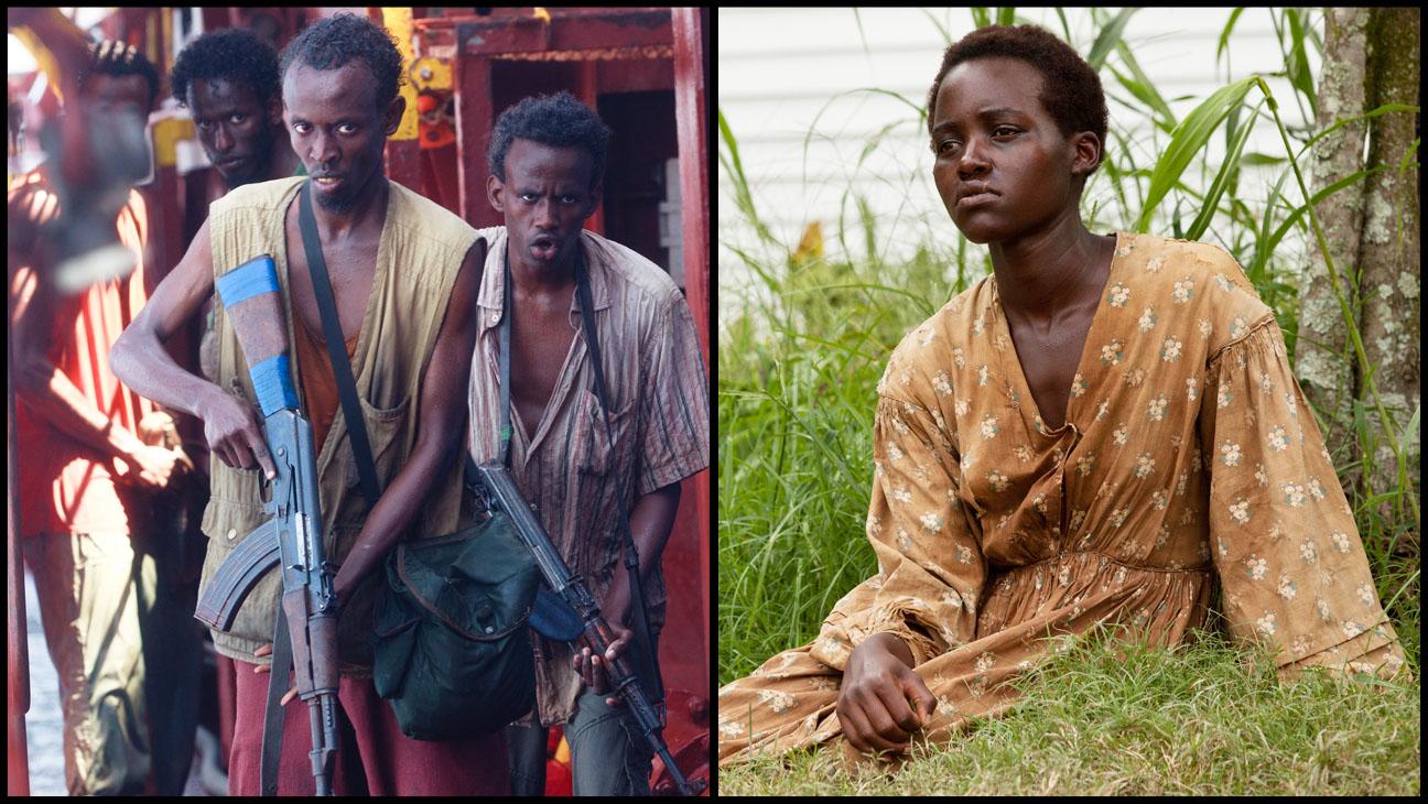 Captain Phillips Barkhad Abdi 12 Years Lupita Nyong'o Split - H 2014