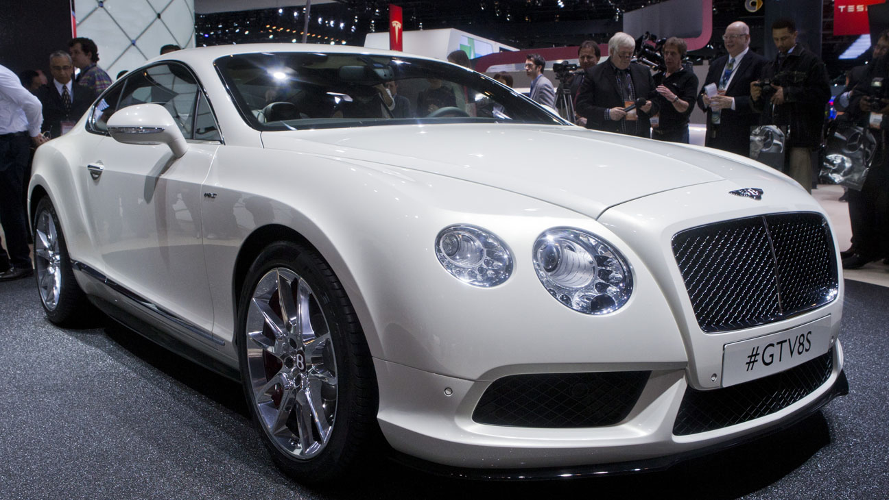 Bentley Continental GT V-8 S - H 2014