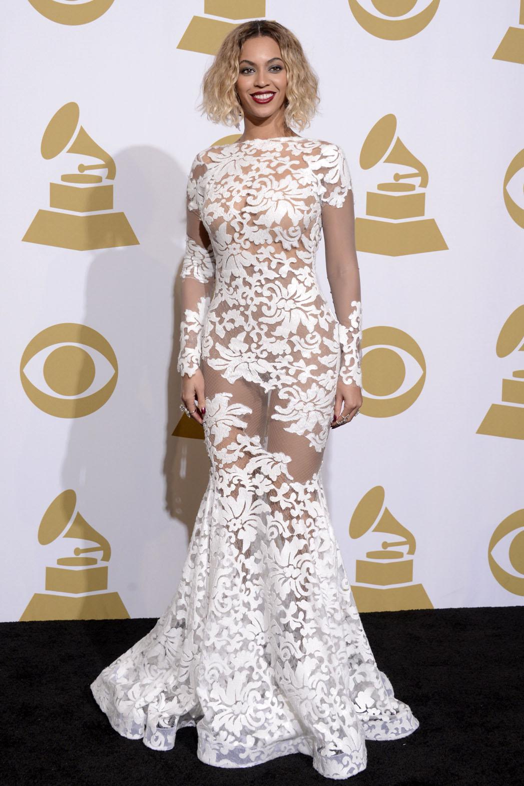 Beyonce Grammy Press Room - P 2014