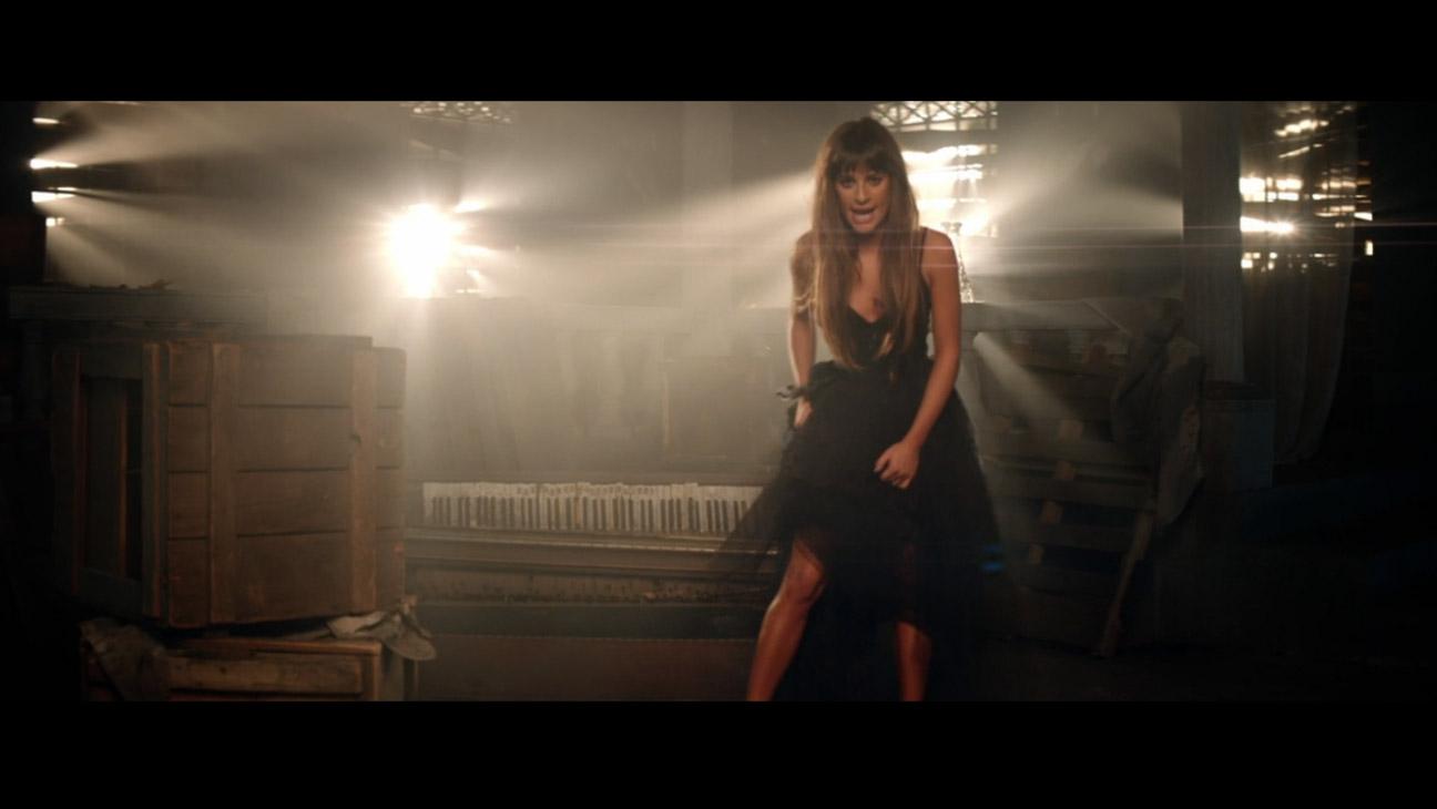 Cannonball Lea Michele Video screengrab - H 2014