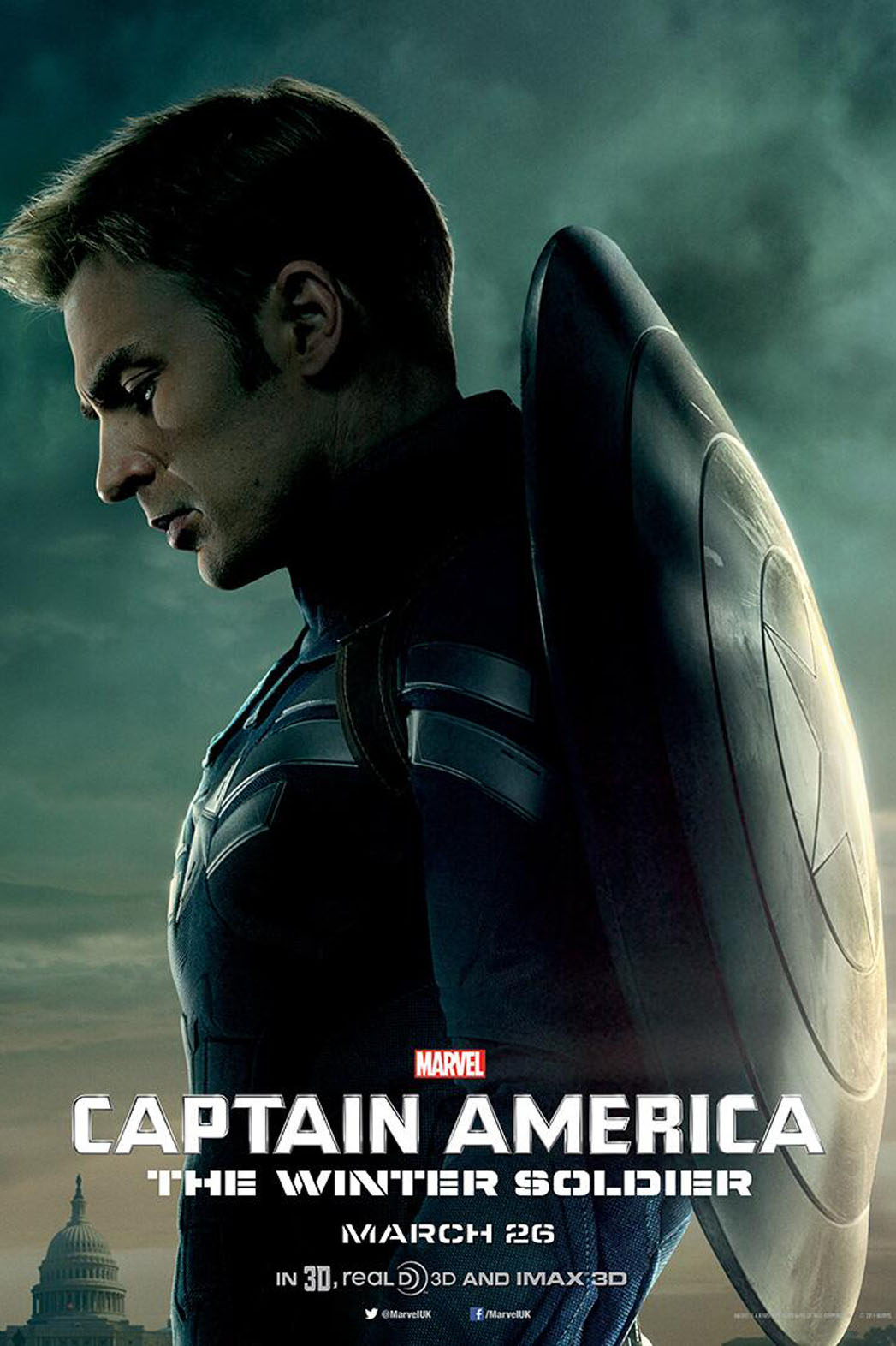 Captain America The Winter Soldier Poster - P 2014