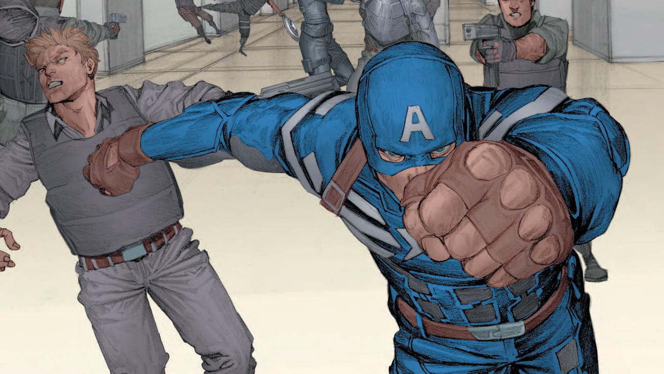 Captain America The Winter Soldier Prelude - H 2014