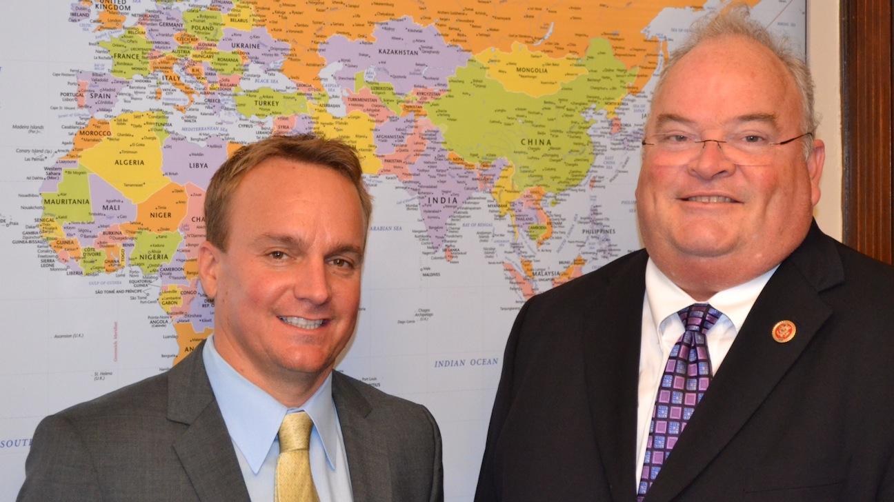 DMG President Chris Fenton Congressman Billy Long H