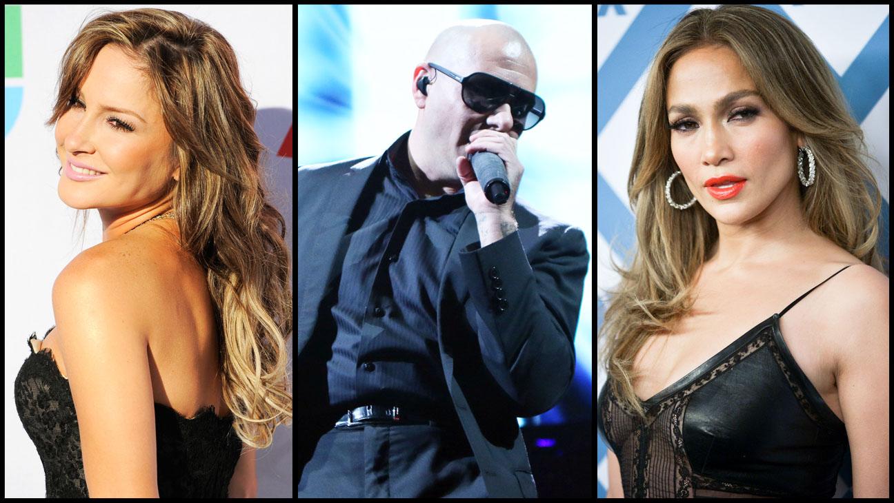 Claudia Leitte Jennifer Lopez Pitbull Split - H 2014
