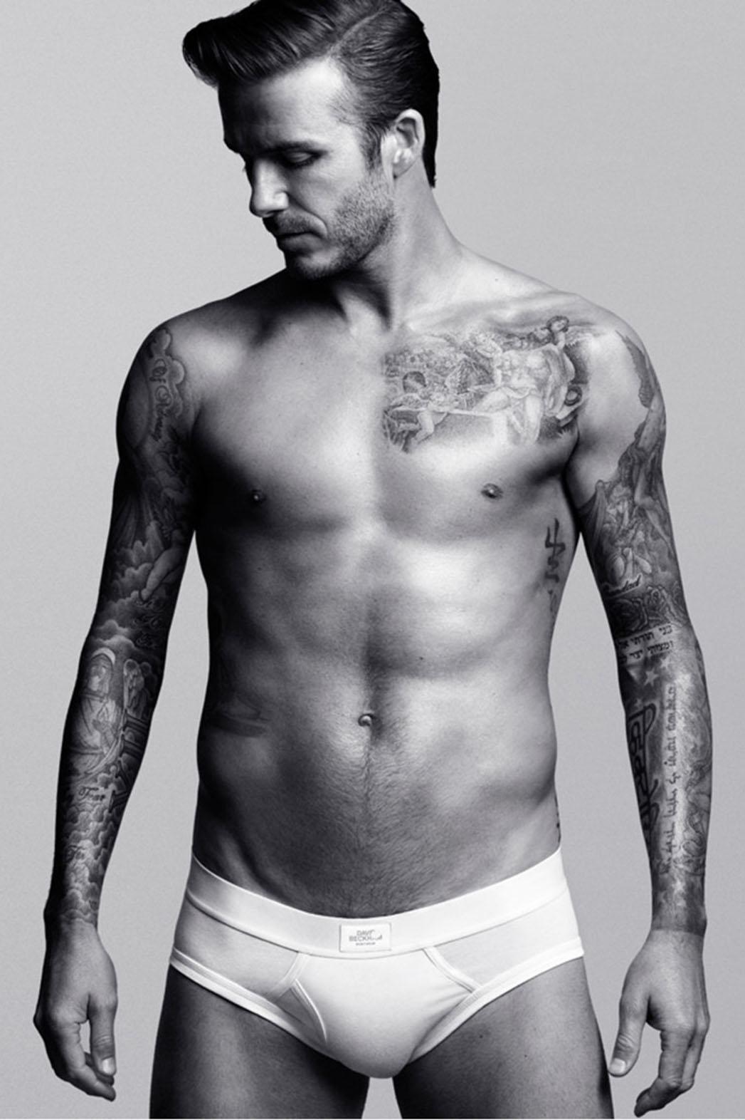 David Beckham H&M Ad - P 2014