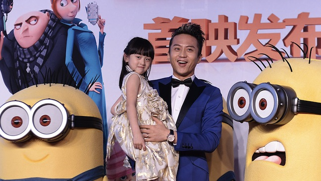 Despicable Me 2 China Release H