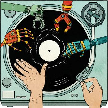 DJ Illustration - S 2014