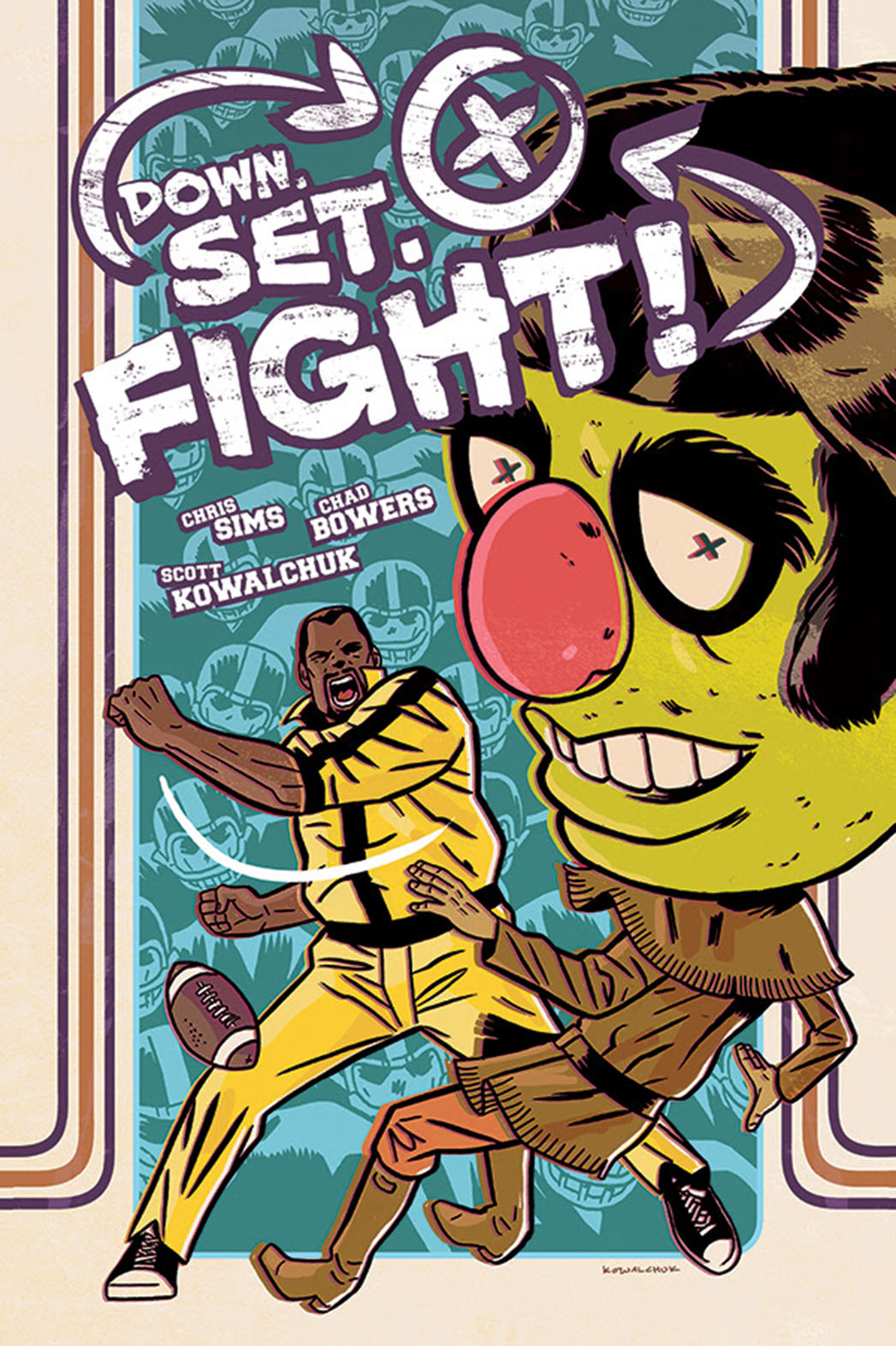 Down Set Fight Digital Cover - P 2014