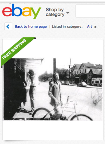 Elvis as teen Ebay P