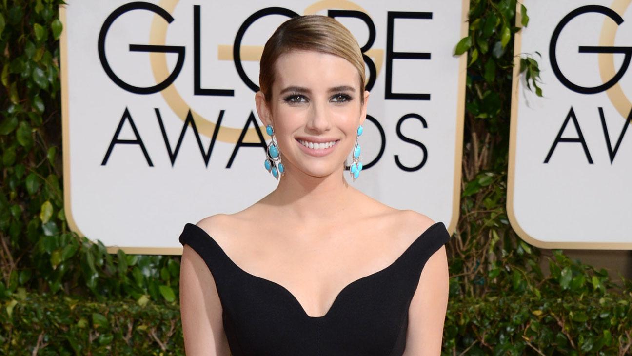 Emma Roberts Golden Globes - H 2014