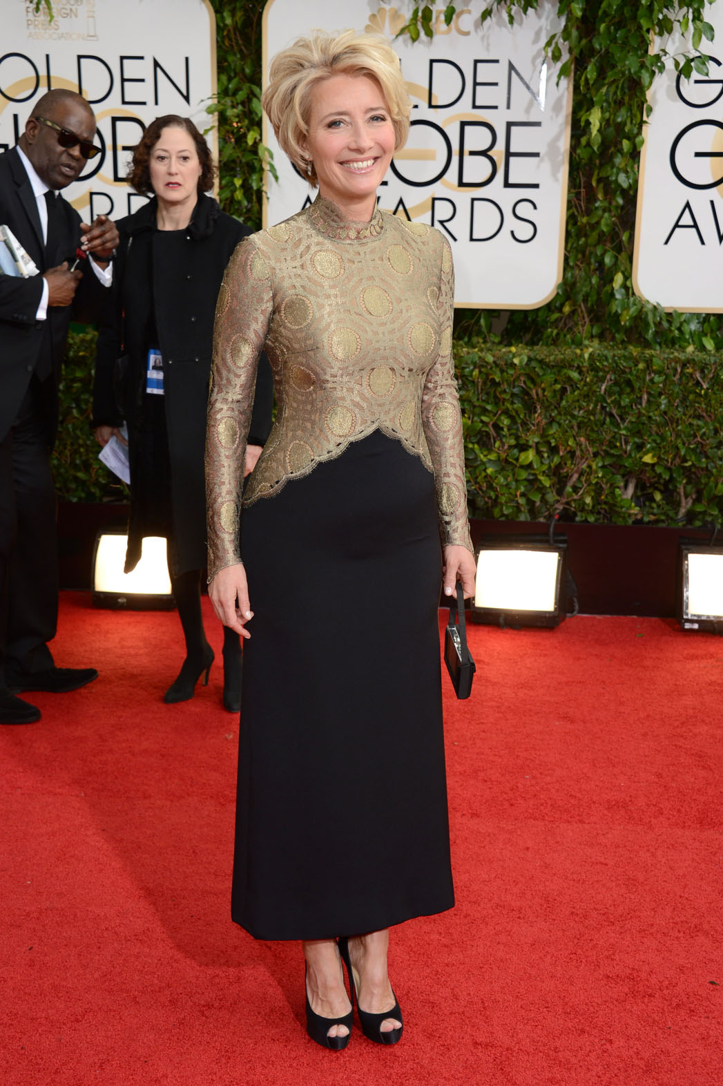 Emma Thompson Golden Globes - P 2014