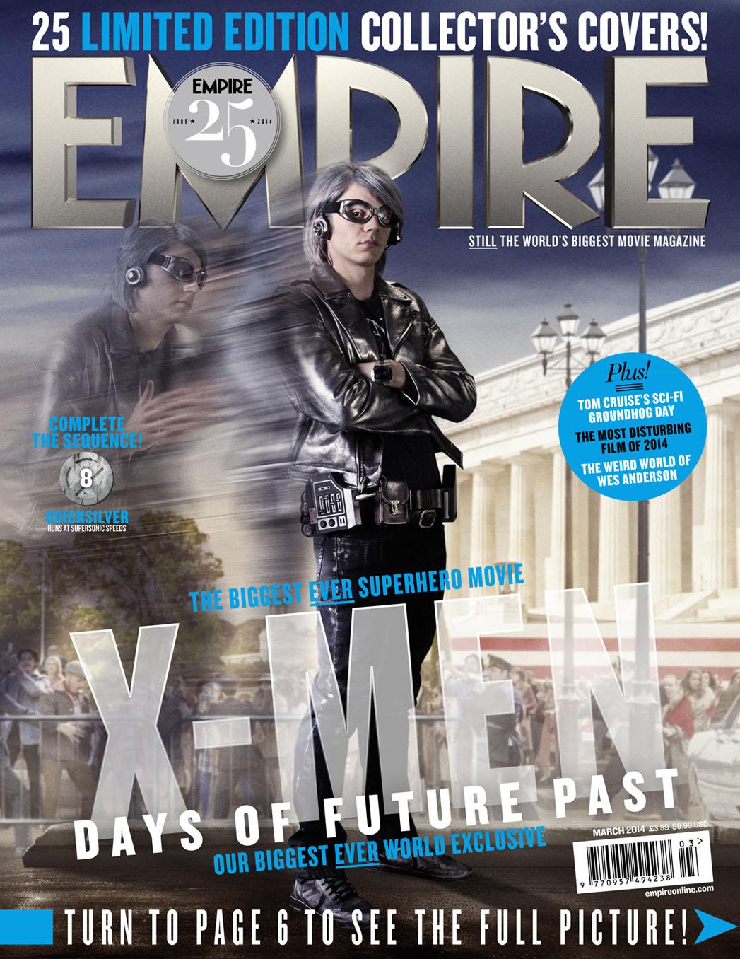 Empire Magazine Quicksilver Cover - P 2014