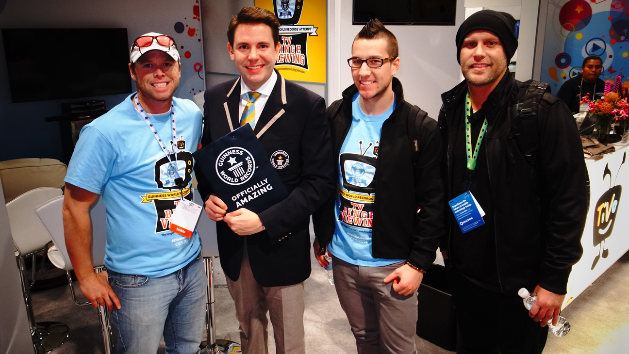 Guinness World Record at CES - H 2014