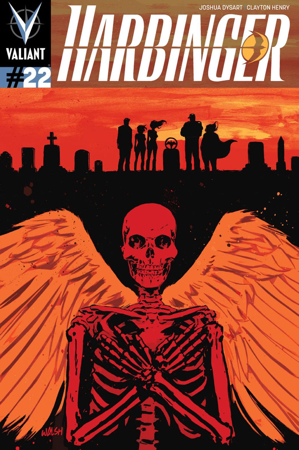 Harbinger 22 Cover - P 2014