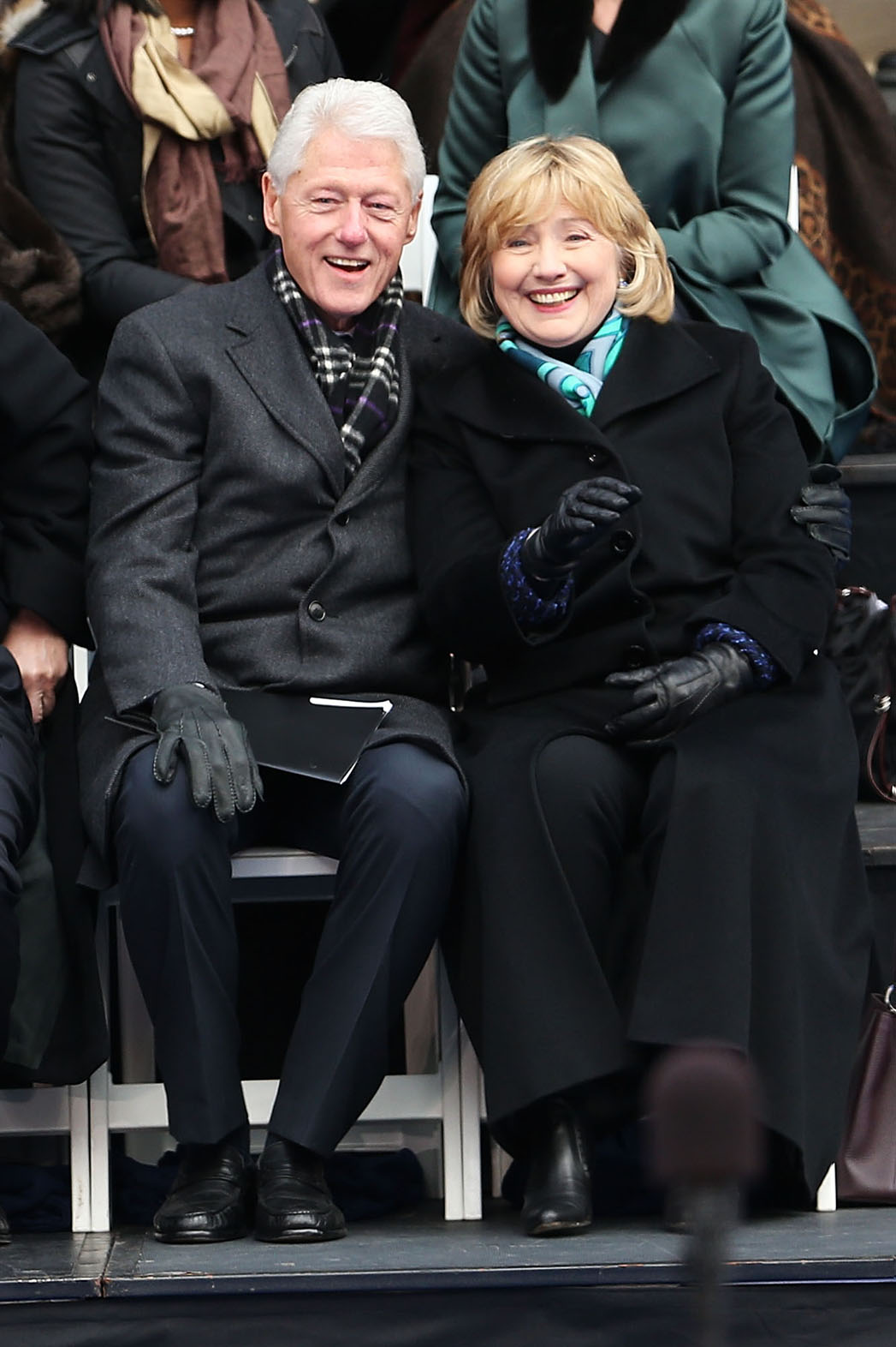 Hillary Clinton NY Mayor Inauguration - P 2013