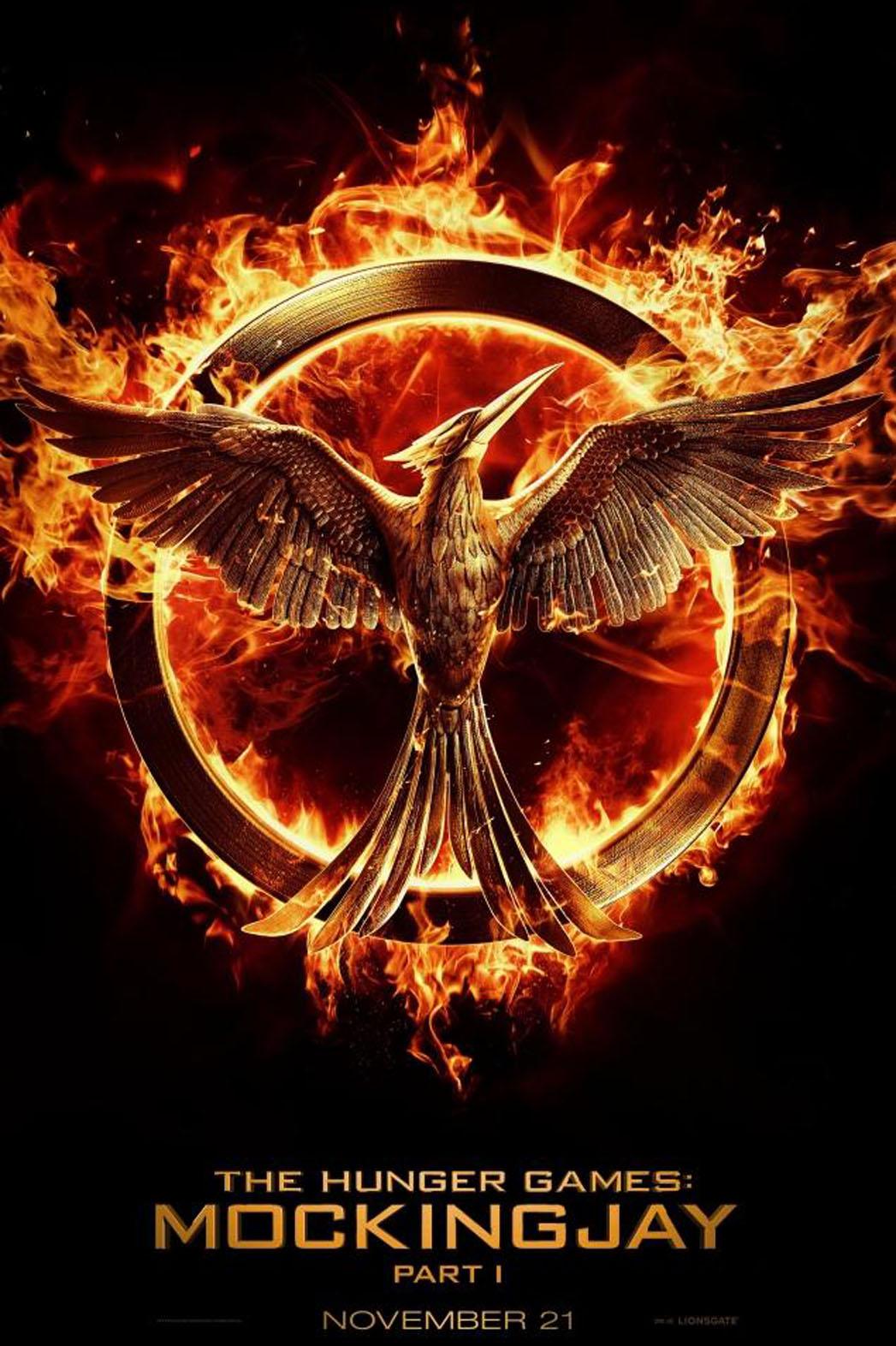 Hunger Games Mocking Jay Poster - P 2014