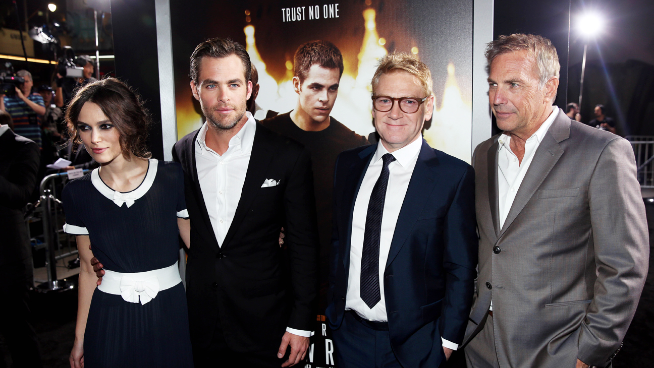 Jack Ryan Premiere Pine Knightley Costner Branagh - H 2014