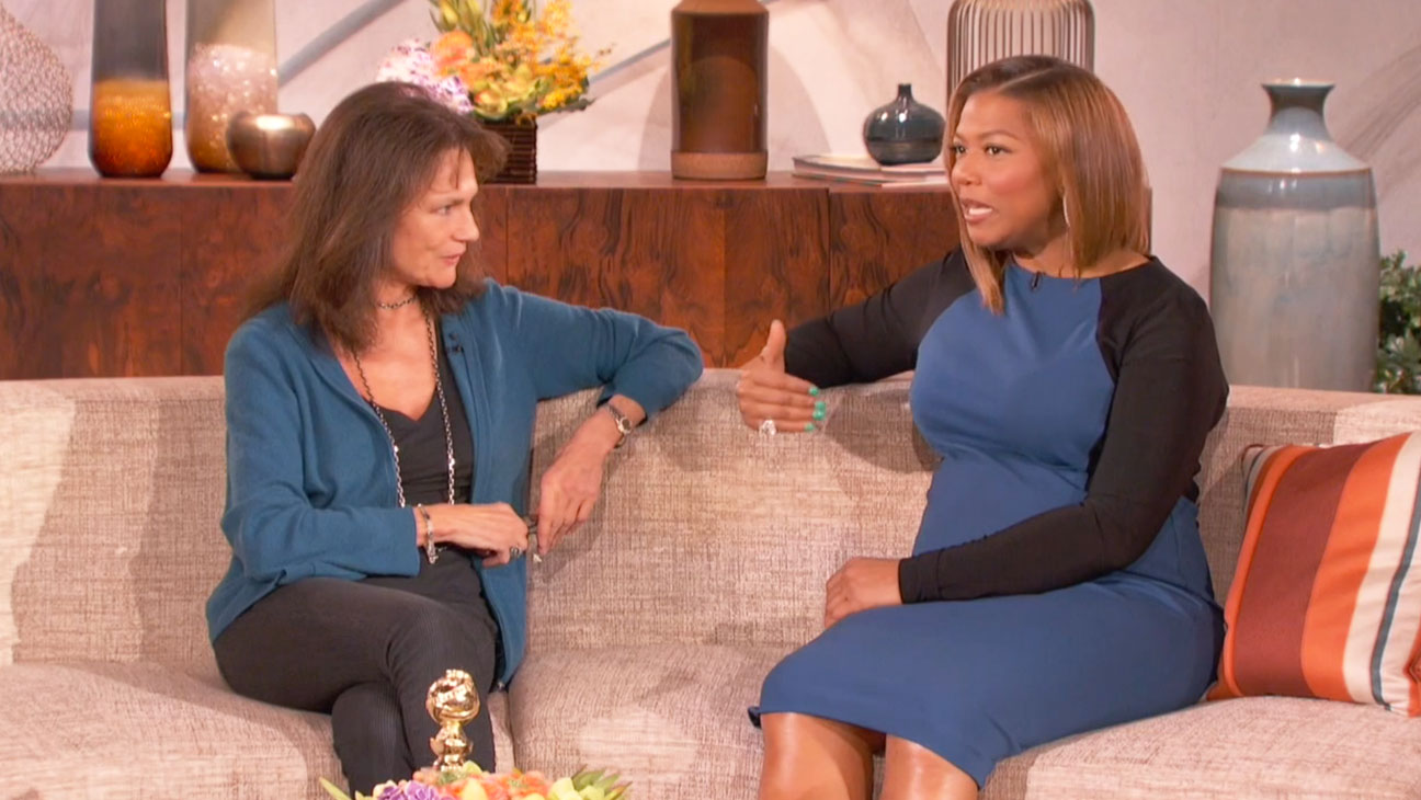 Jacqueline Bisset on Queen Latifah - H 2014