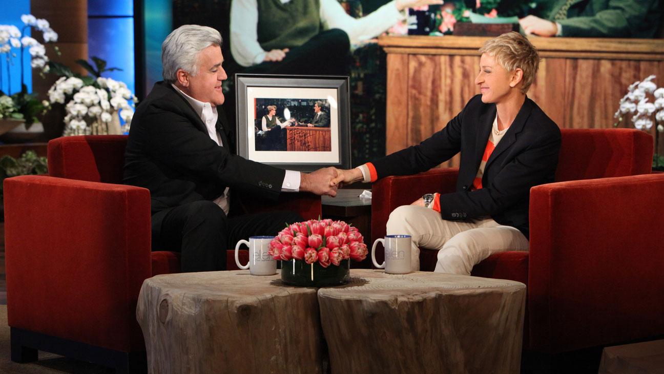 Jay Leno Ellen DeGeneres - H 2014