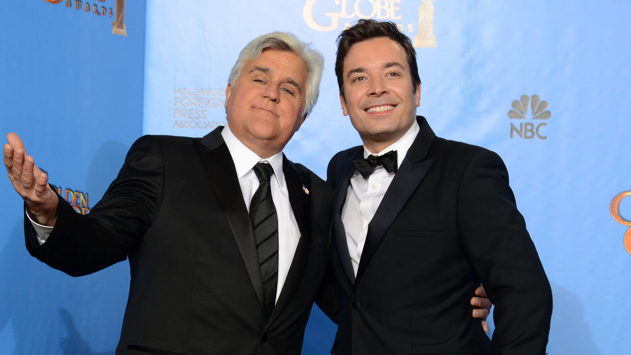 Jay Leno Jimmy Fallon - H 2014