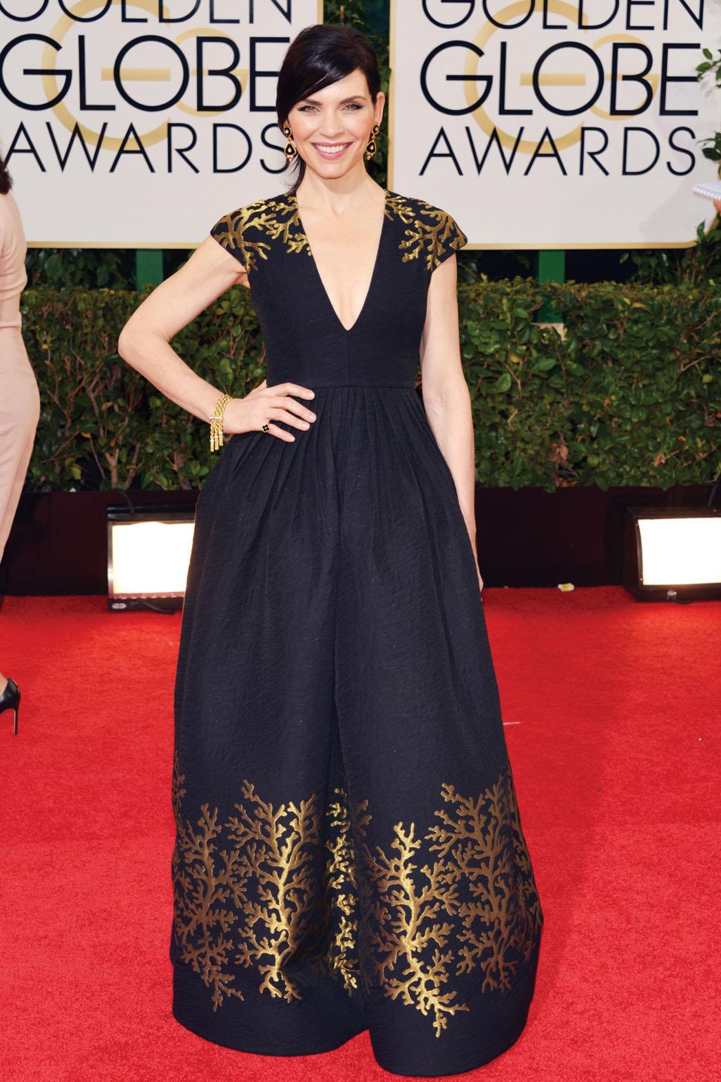 Julianna Margulies Globes Dress - P 2014