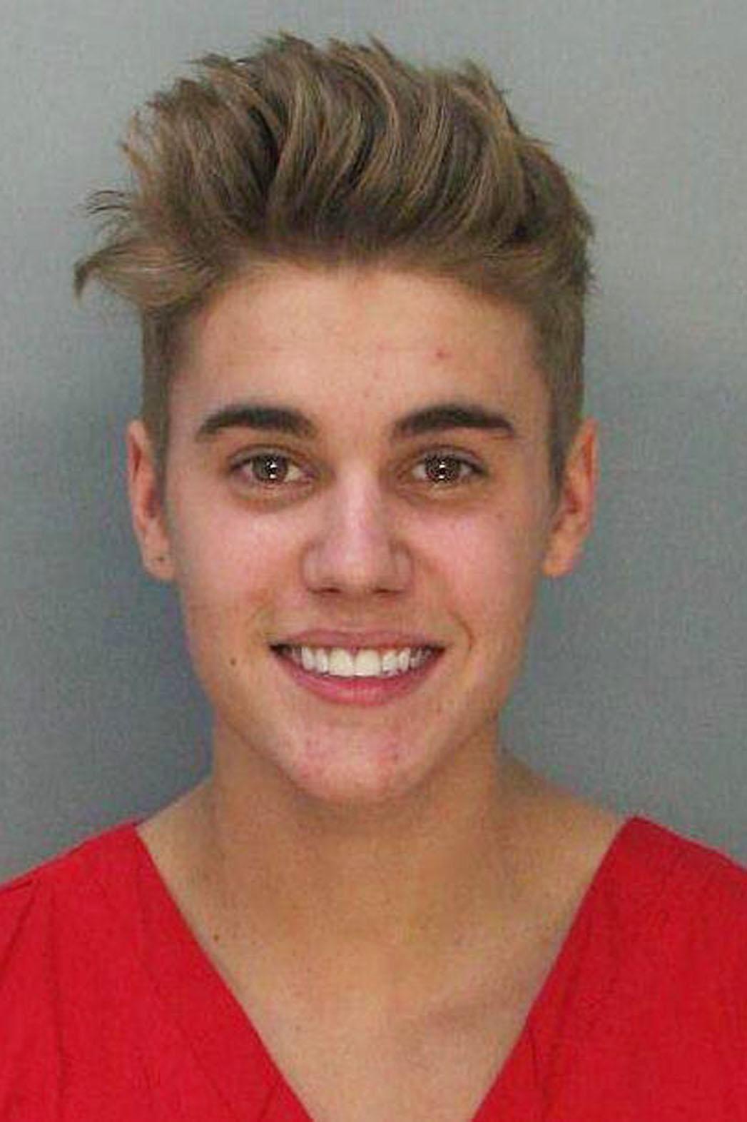 Justin Bieber Mugshot - P 2014
