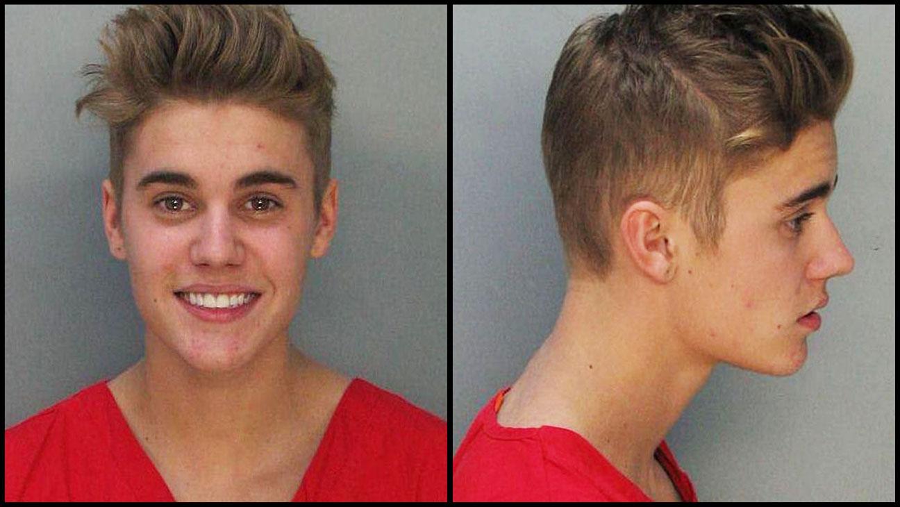 Justin Bieber Mugshot Split 2 - H 2014