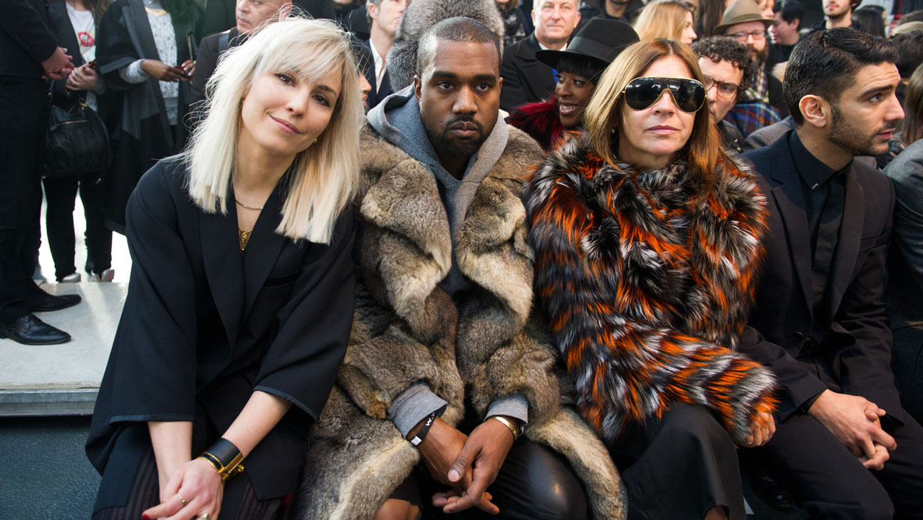 Kanye West Givenchy show in Paris - H 2014