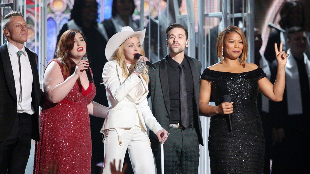 Macklemore Madonna Grammys - H 2014