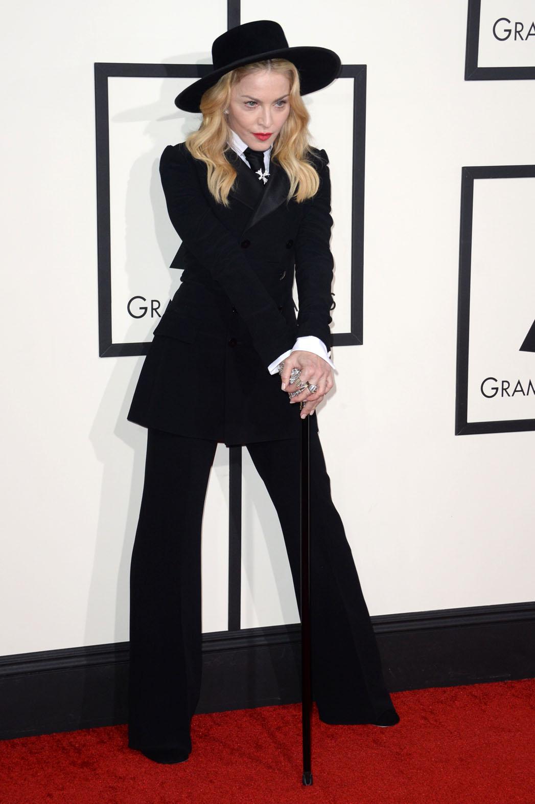 Madonna Suit Grammy Awards - P 2014