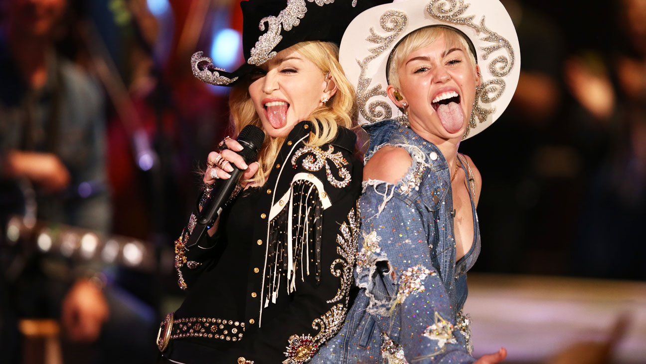 Miley Unplugged with Madonna - H 2014