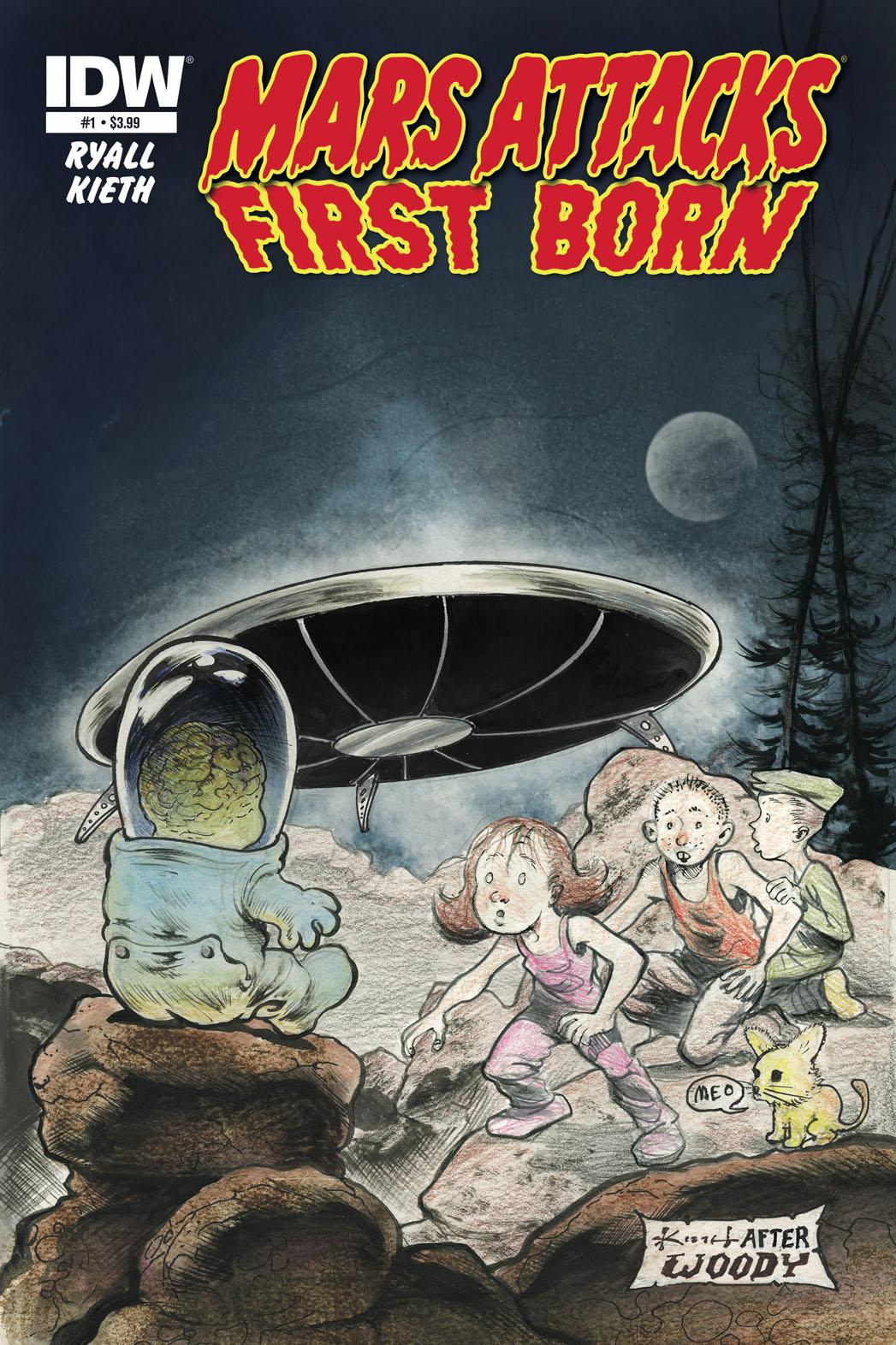 Mars Attacks First Born Cover - P 2014