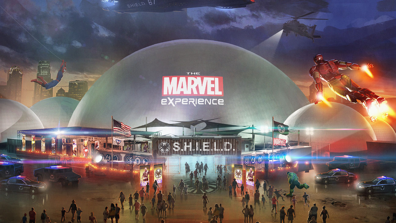 The Marvel Experience Rendering image - H 2013