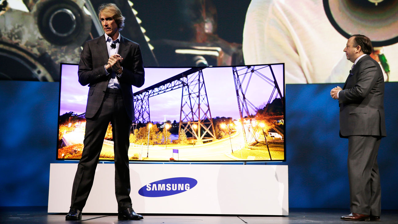 Michael Bay on Stage at CES - H 2014