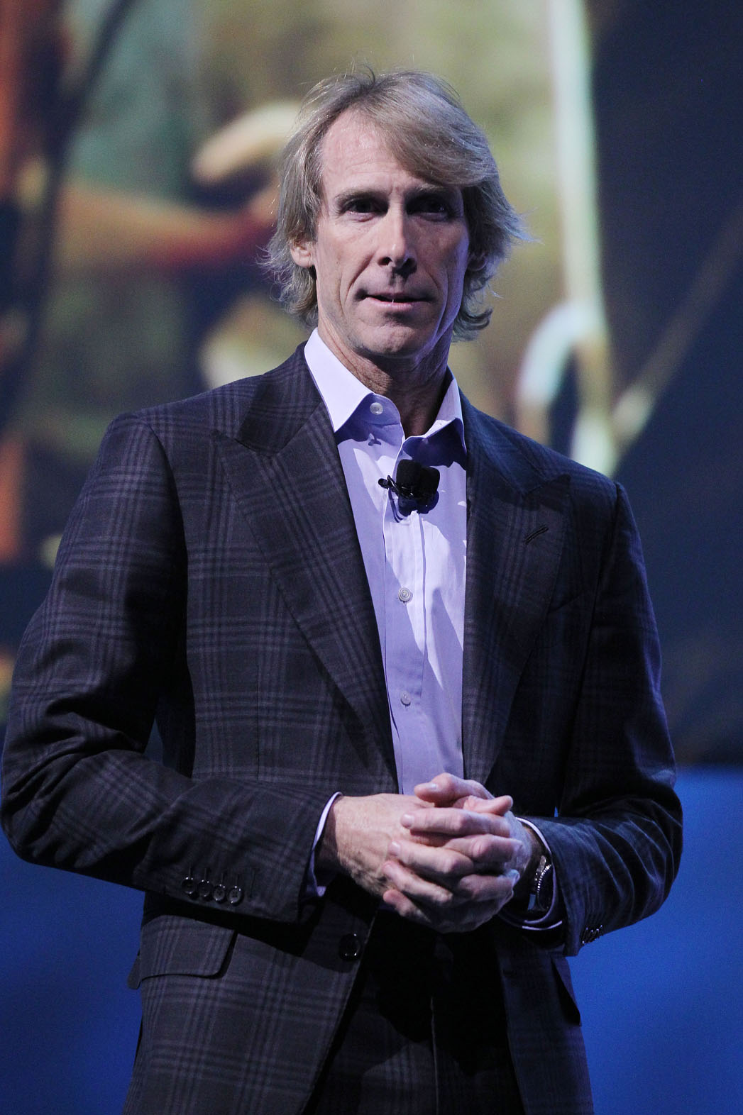 Michael Bay on Stage at CES - P 2014