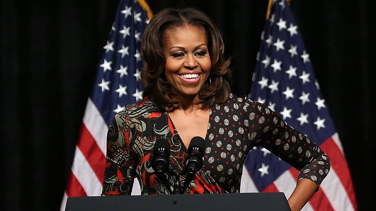 Michelle Obama Horizontal Preta - H 2014