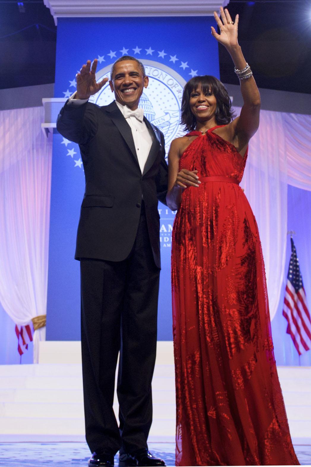 Michelle Obama Inauguration Dress - P 2014