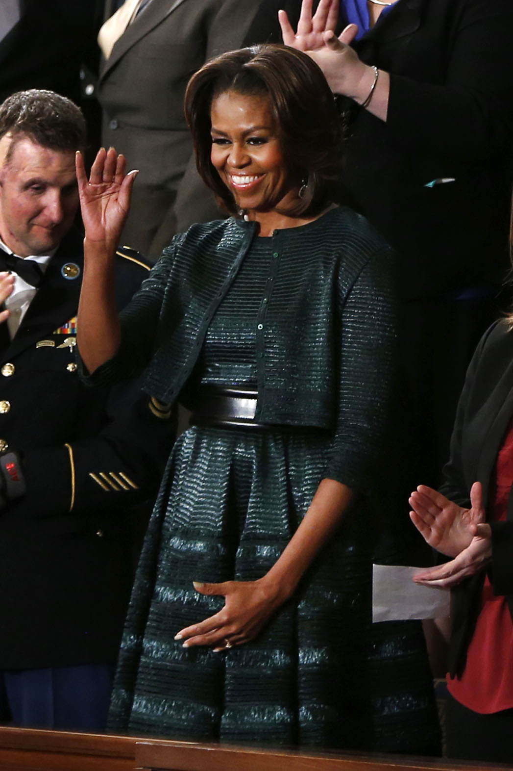 Michelle Obama State of the Union - P 2014