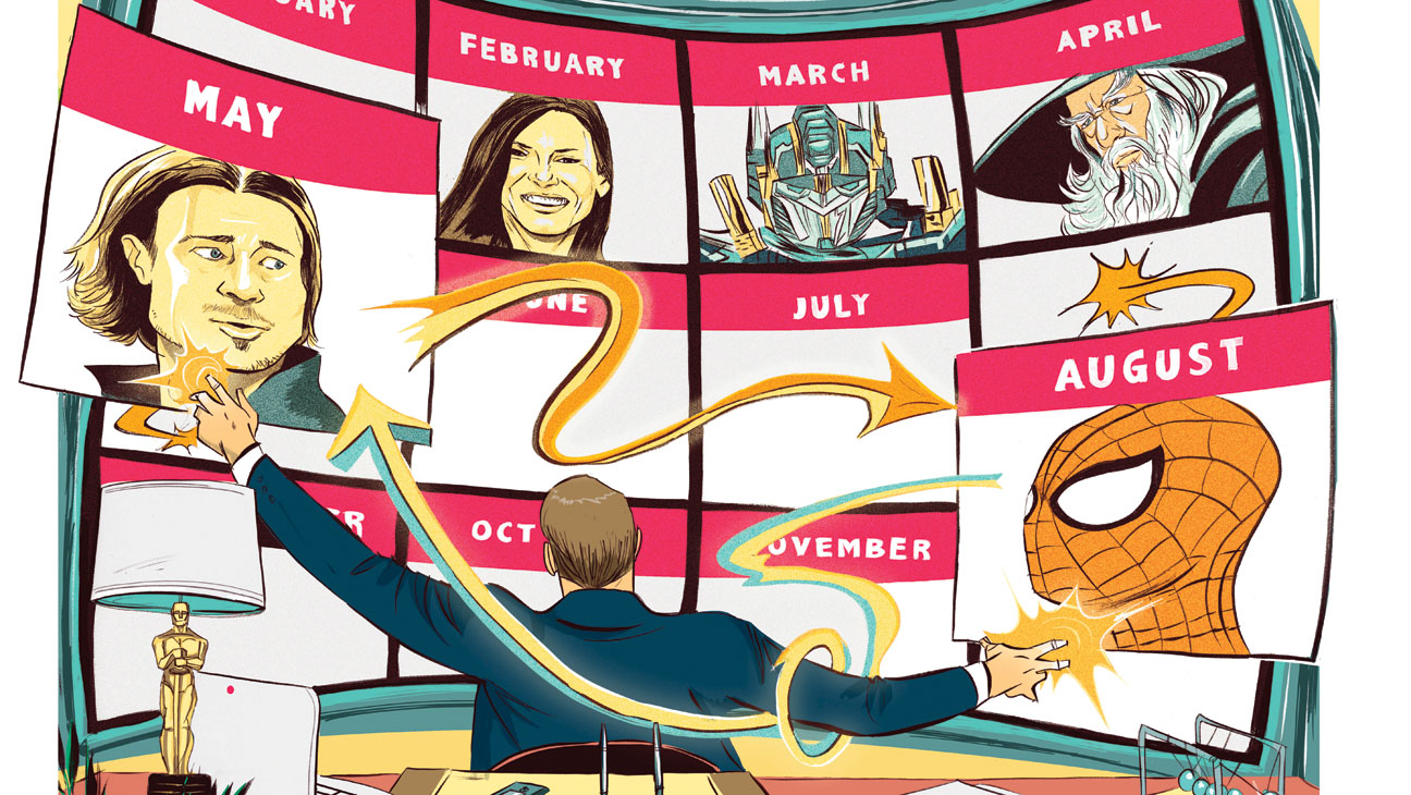 Issue 1 BIZ 2014 Movie Calendar Illustration - H 2013