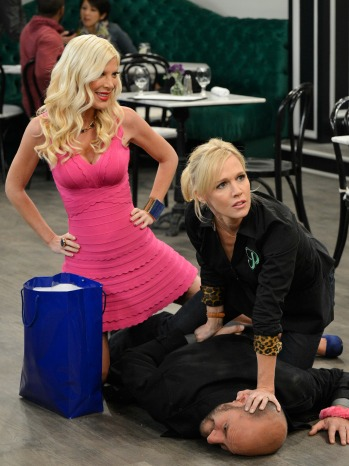 Mystery Girls Tori Spelling Jennie Garth Still - H 2014