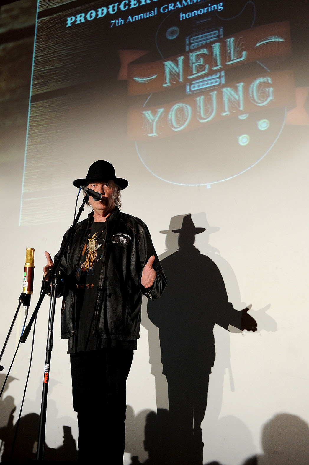 Neil Young Grammy Tribute Event - P 2014