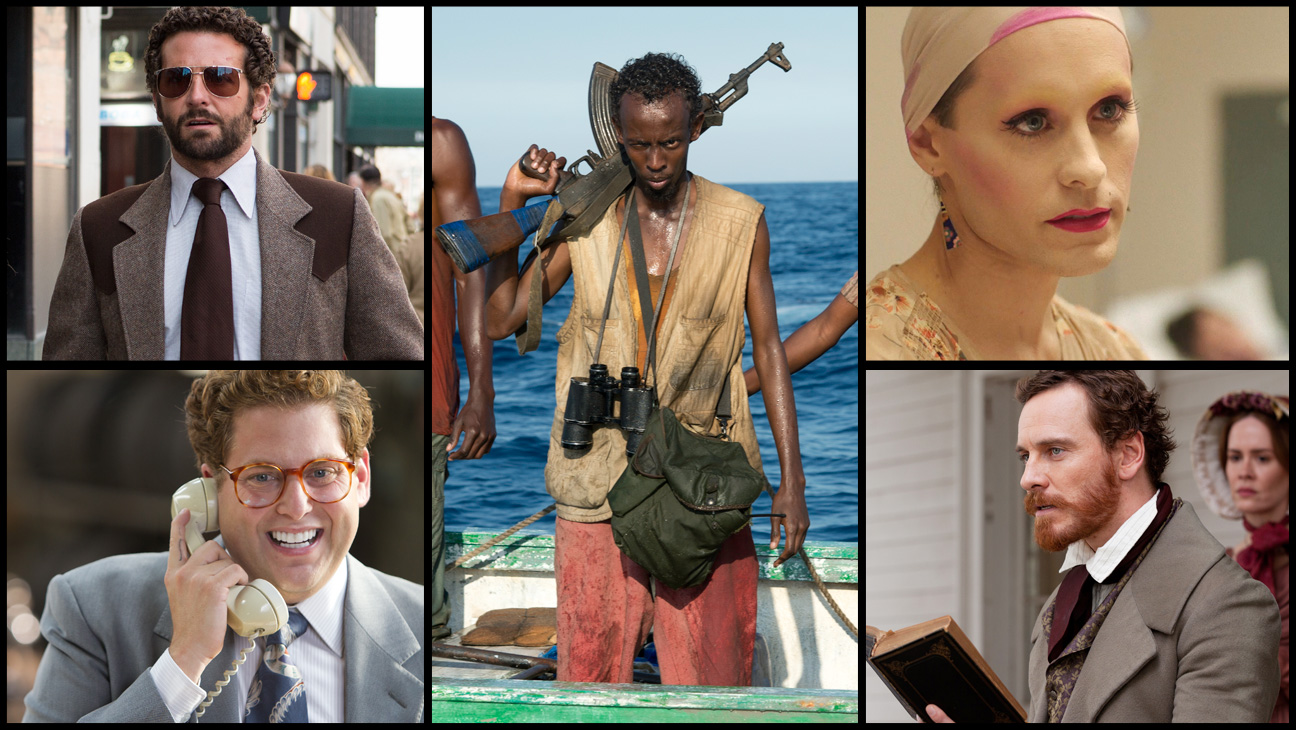 Oscar Contenders Supporting Actor Split - H 2014