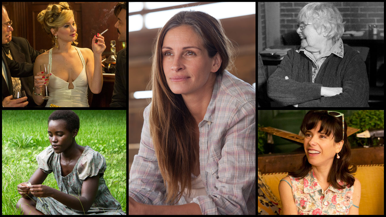 Oscar Contenders Supporting Actress Split - H 2014