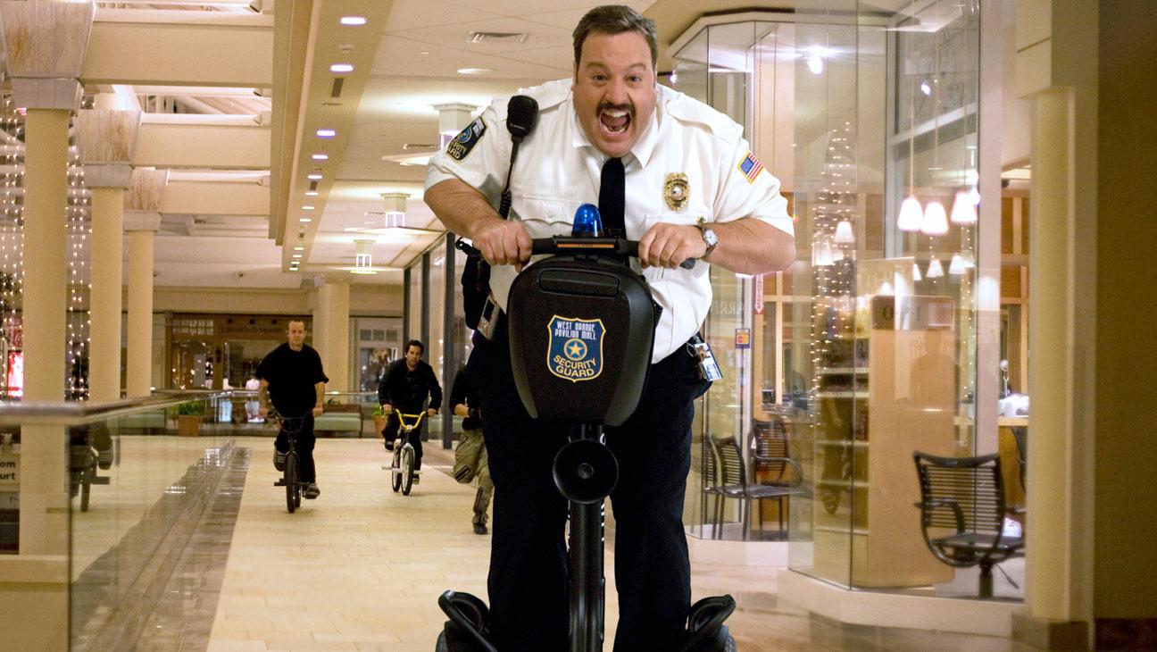 Paul Blart Mall Cop Segway Still - H 2013